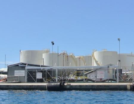 Groupe Petropol -Dépôt Fare Ute : STDP - Mobil Tahiti
