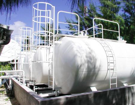 Groupe Petropol - Dépôt de Rangiroa - Mobil Tahiti